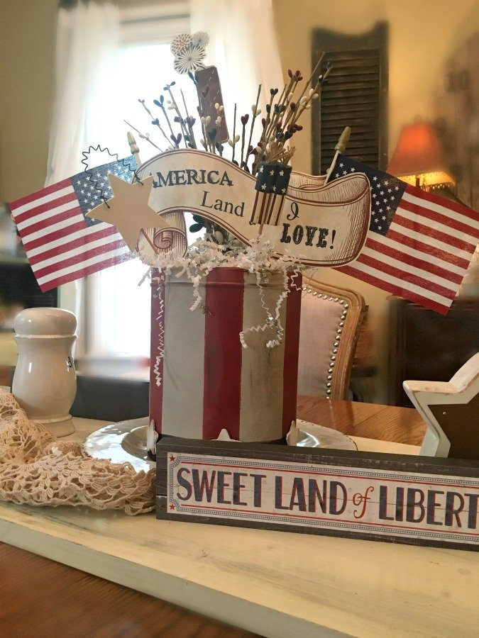 4th of July Centerpiece DIY-gullycreekcottage-centerpiece