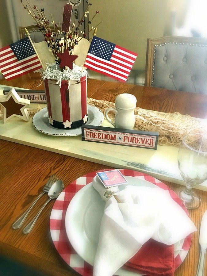 4th of July Centerpiece DIY-gullycreekcottage-place