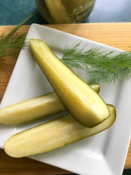 Dill Pickle Recipe to top all others-gullycreekcottage-pin
