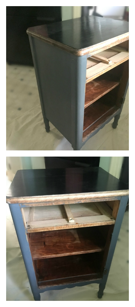 Easy paint craft ideas-gullycreekcottage-nightstand