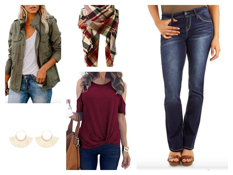 3 Fall outfits under $320-gcc-army