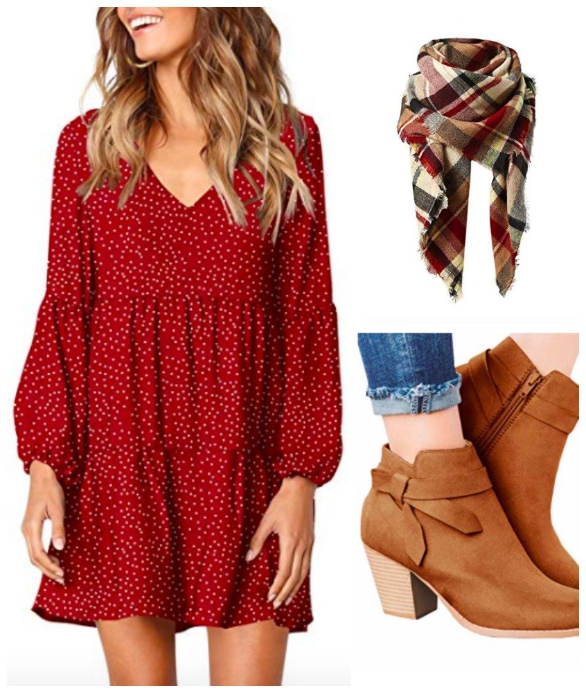 3 Fall outfits under $320-gcc-red