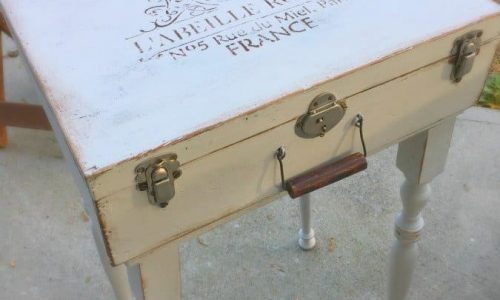 Antique suitcase gets new look