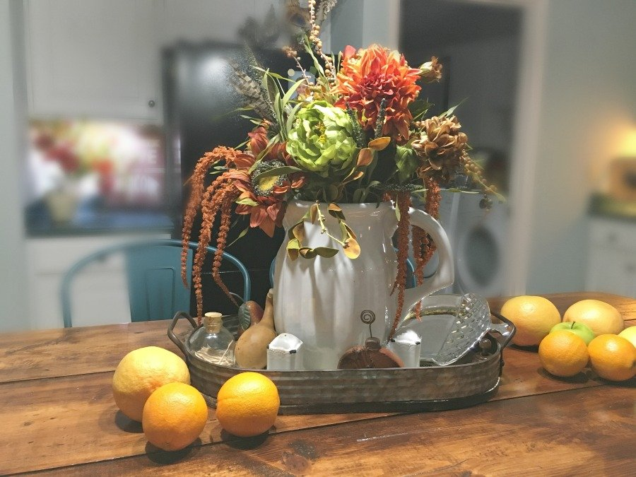 Fall flair at Gully Creek Cottage-gcc-kitchen
