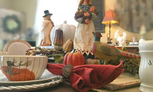 Fall flair at Gully Creek Cottage