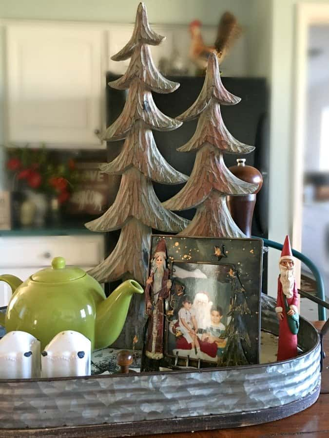 Christmas at Gully Creek Cottage-wood