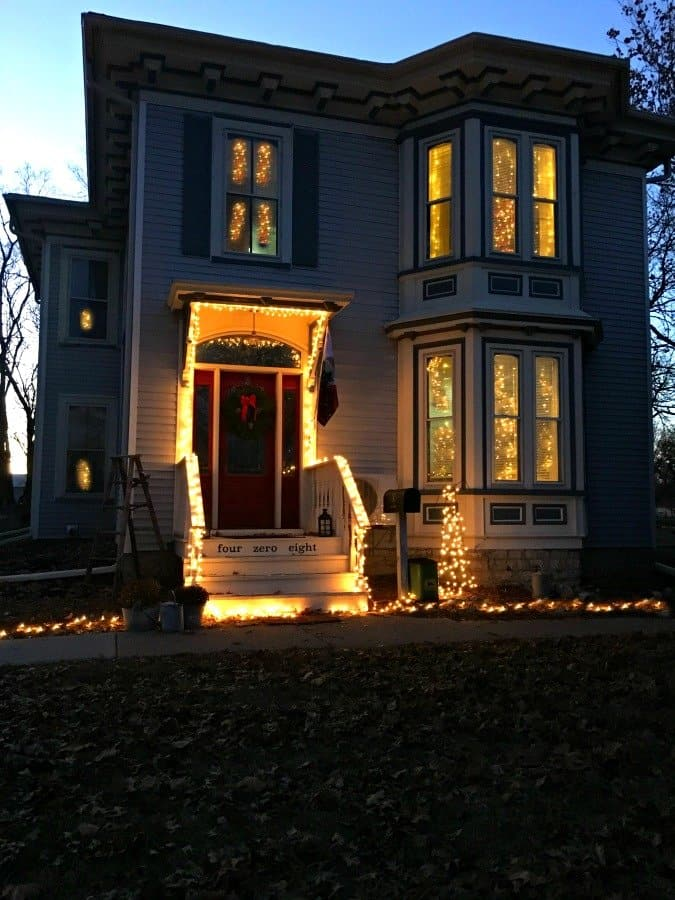 Christmas at Gully Creek Cottage-lights