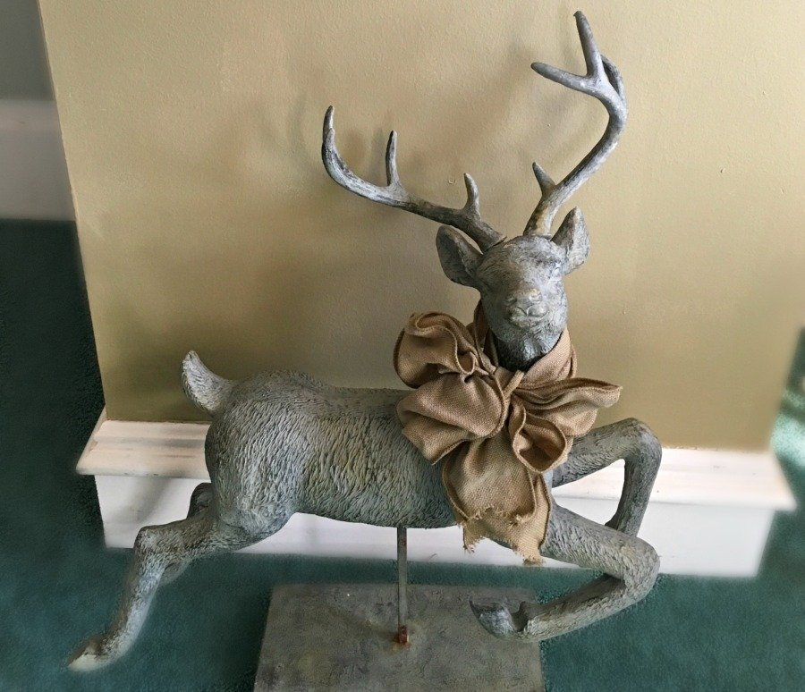 Christmas at Gully Creek Cottage-reindeer