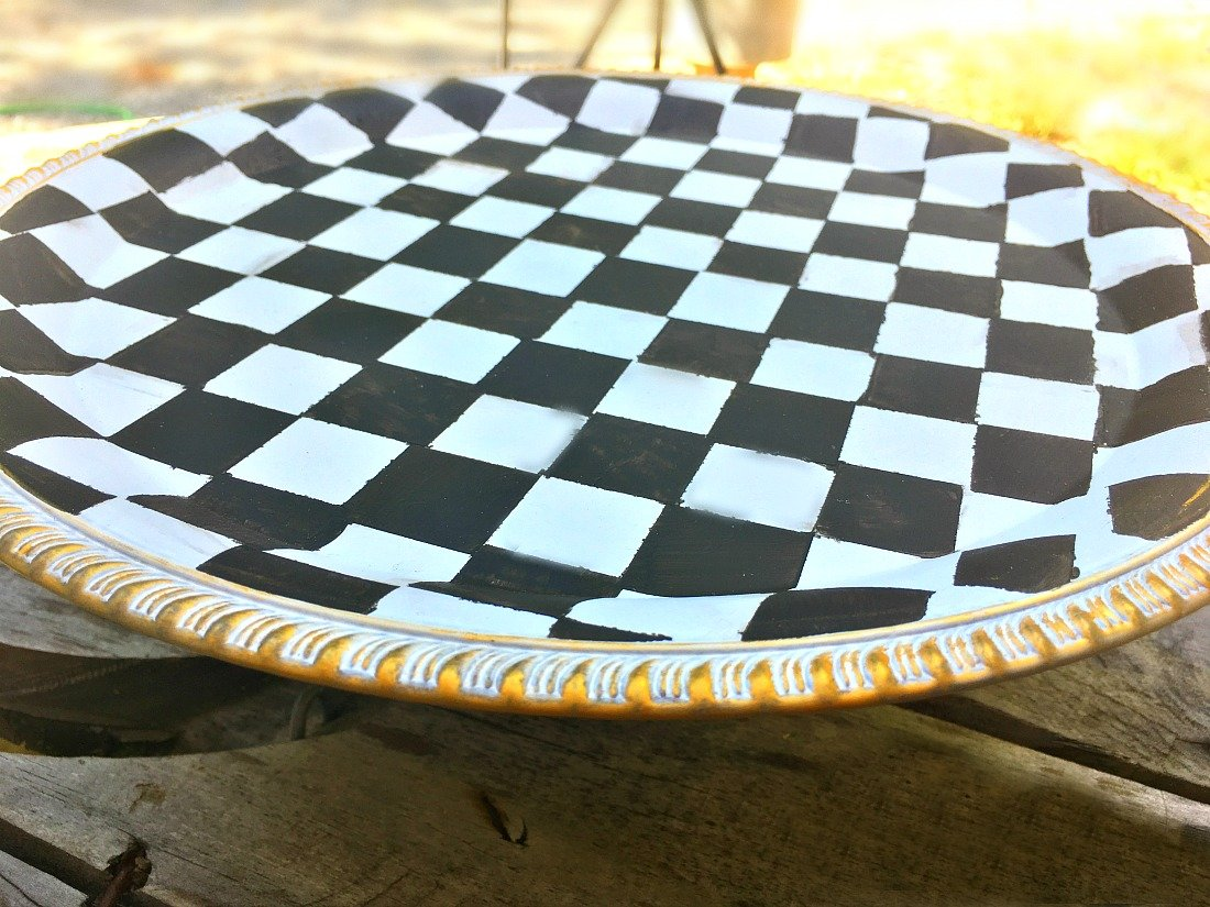 MACKENZIE CHILDS INSPIRED CAKE STAND-gcc-check