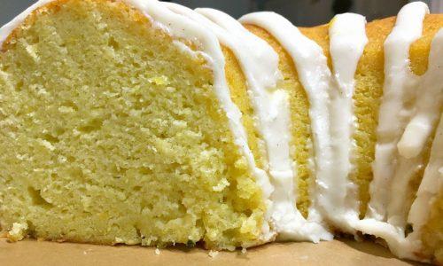 Glazed Lemon Zucchini Bundt Cake