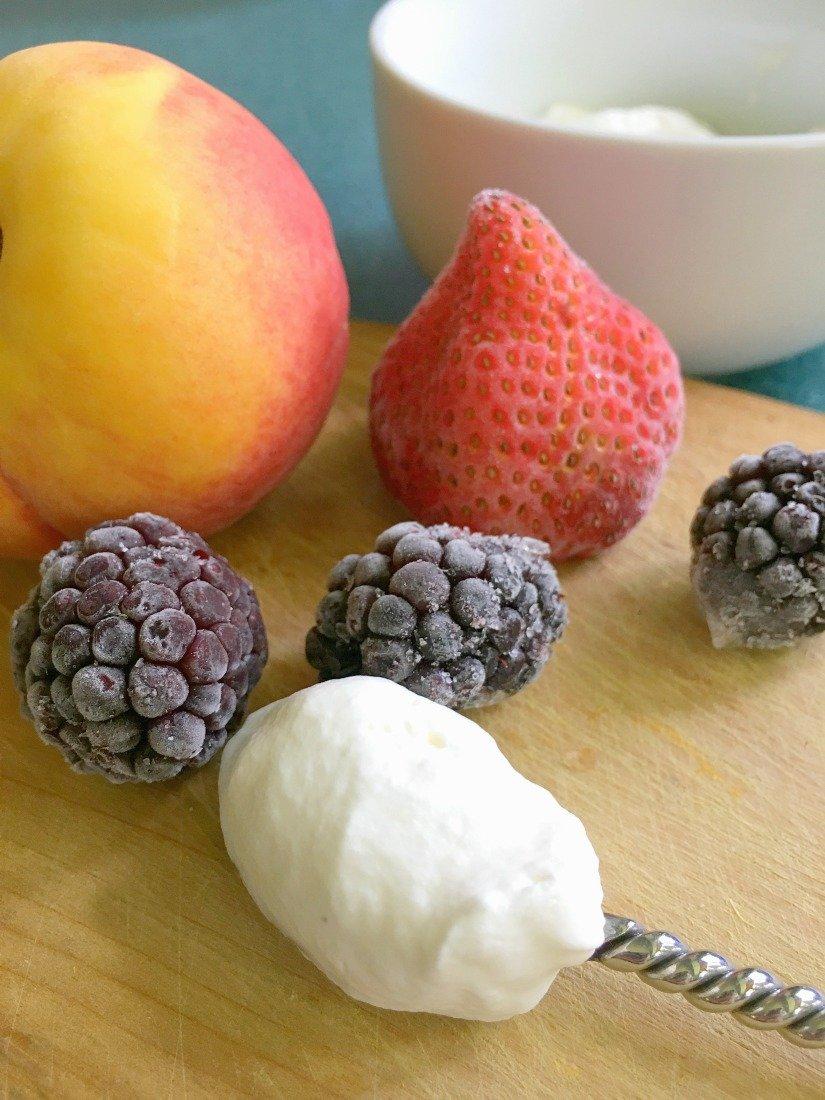 sweet Napoleon summer dessert-gcc-fruits