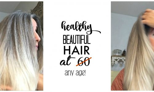 Healthy beautiful hair at 60