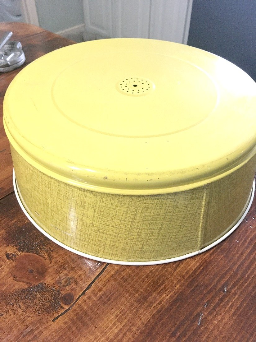 How to turn a cake carrier into a chandelier-gcc-knob