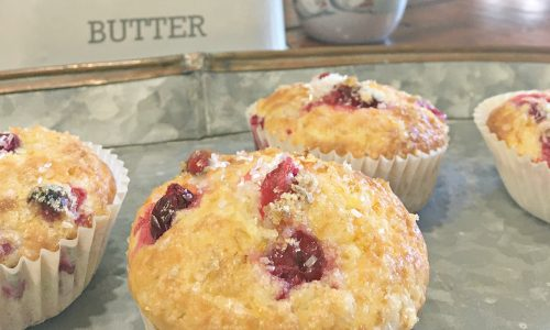 the perfect Orange Cranberry Muffins