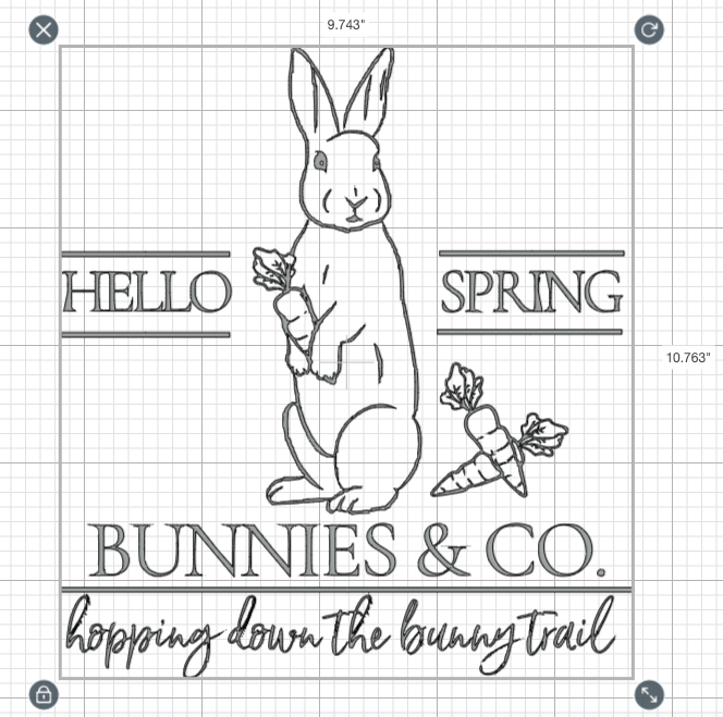 Simple Spring Wood Sign-gcc-size