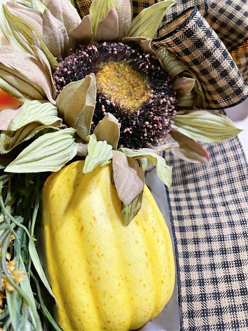 pumpkin floral pick hack-gcc-floral