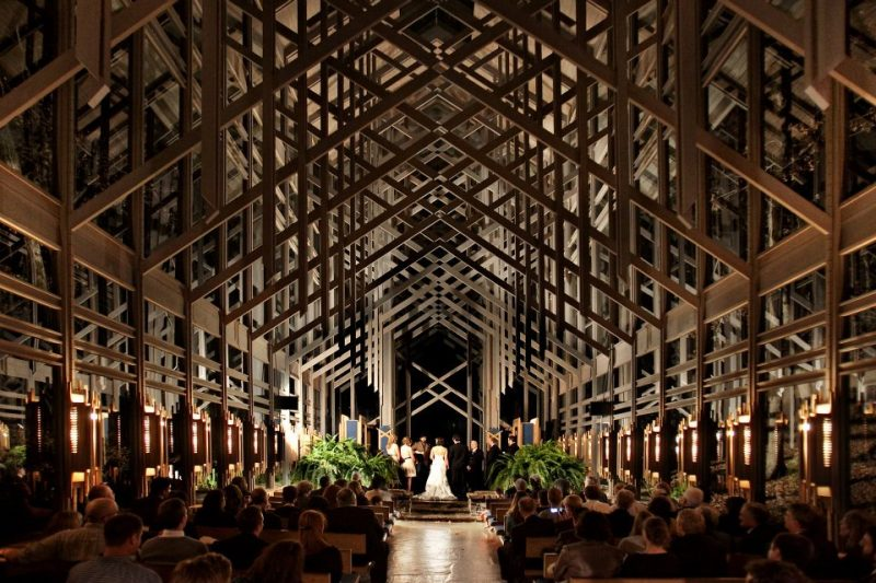 featuring a Fall wedding-chapel