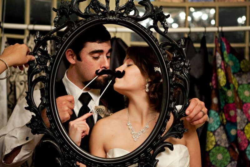 featuring a Fall wedding-framed