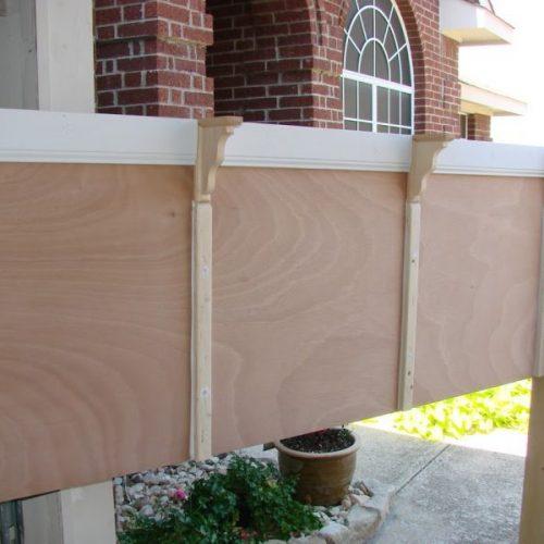 the kingsize headboard project-no-paint
