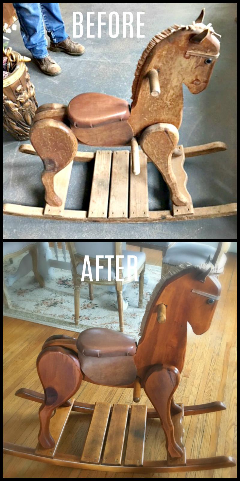 When a cowboy needs a horse-after