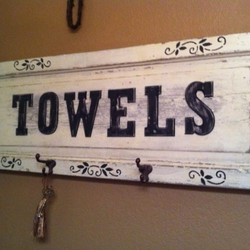 no ordinary towel bar-hang