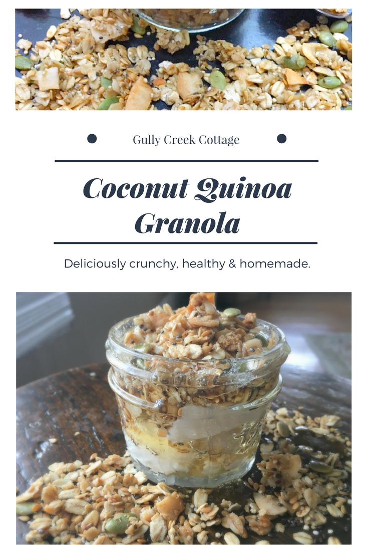 Healthy Homemade Granola (Part 2)-pin