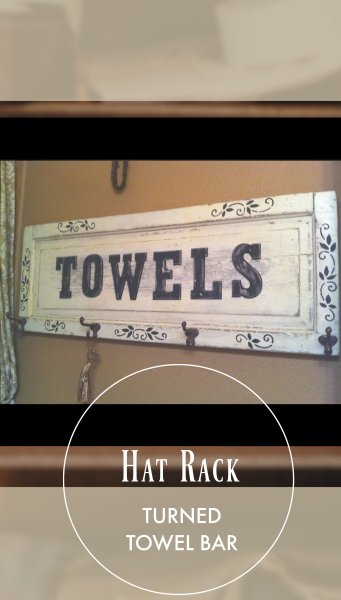 no ordinary towel bar-pin