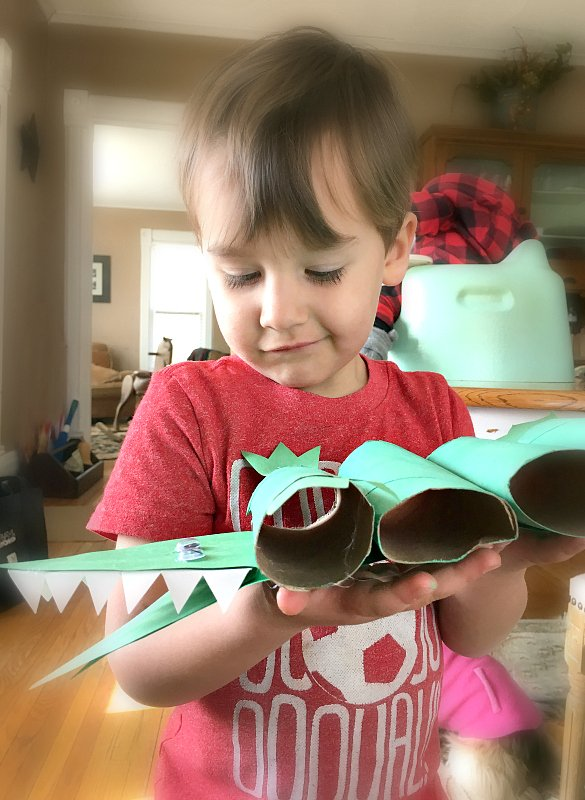 Fun activities for toddlers-croc