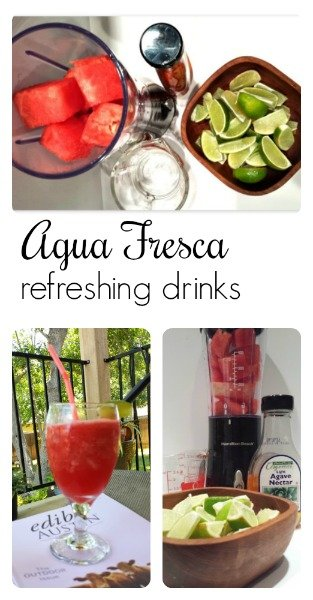 Summer fruits - beverage must-pin