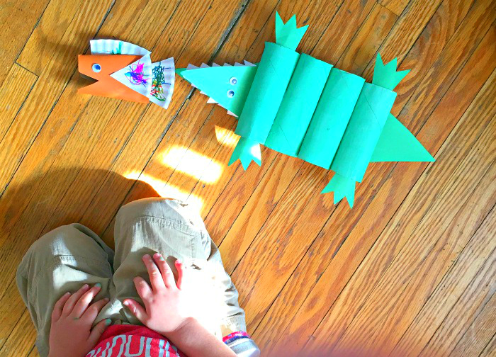 Fun activities for toddlers-craft