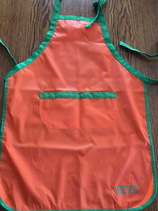 Fun activities for toddlers-apron