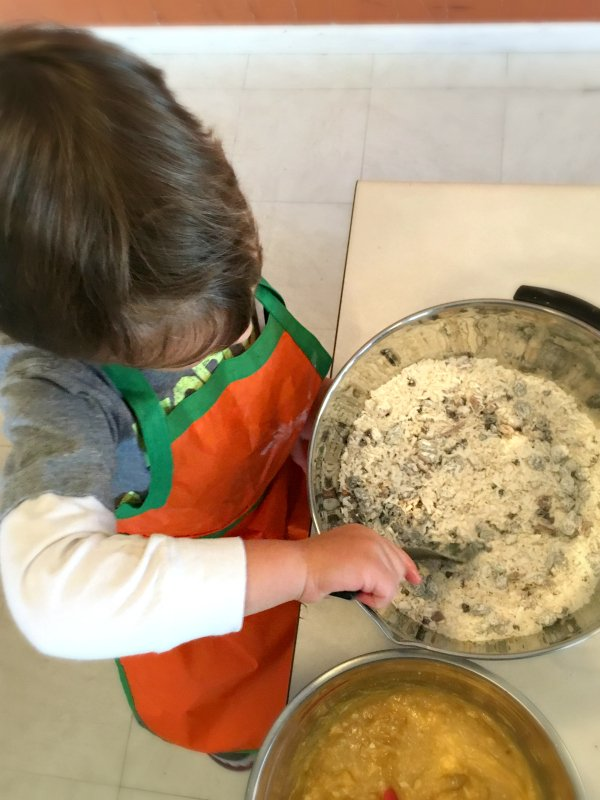 Fun activities to do with a toddler-apron-baking