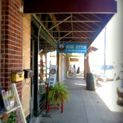 it's springing in the hill country-shops