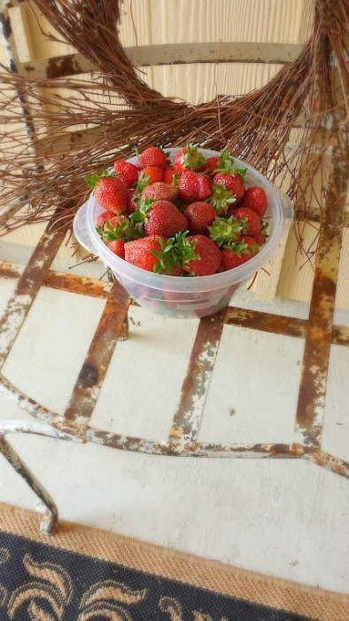 it's strawberry season y'all-basket