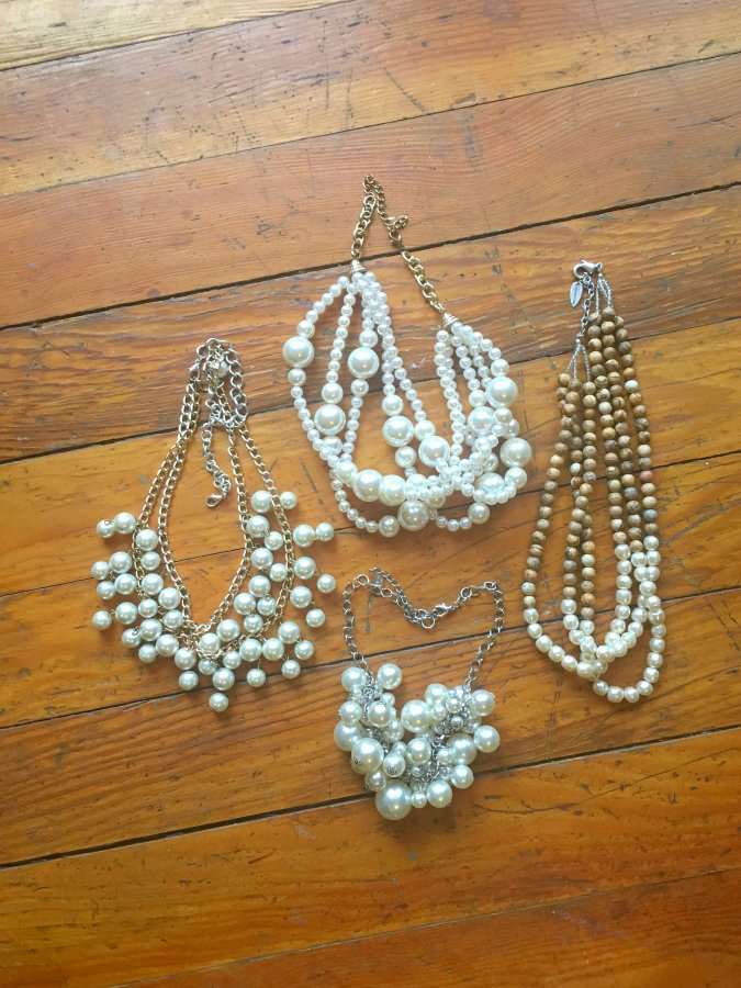 how to dress up pearls-options