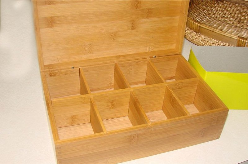 tea storage box-before