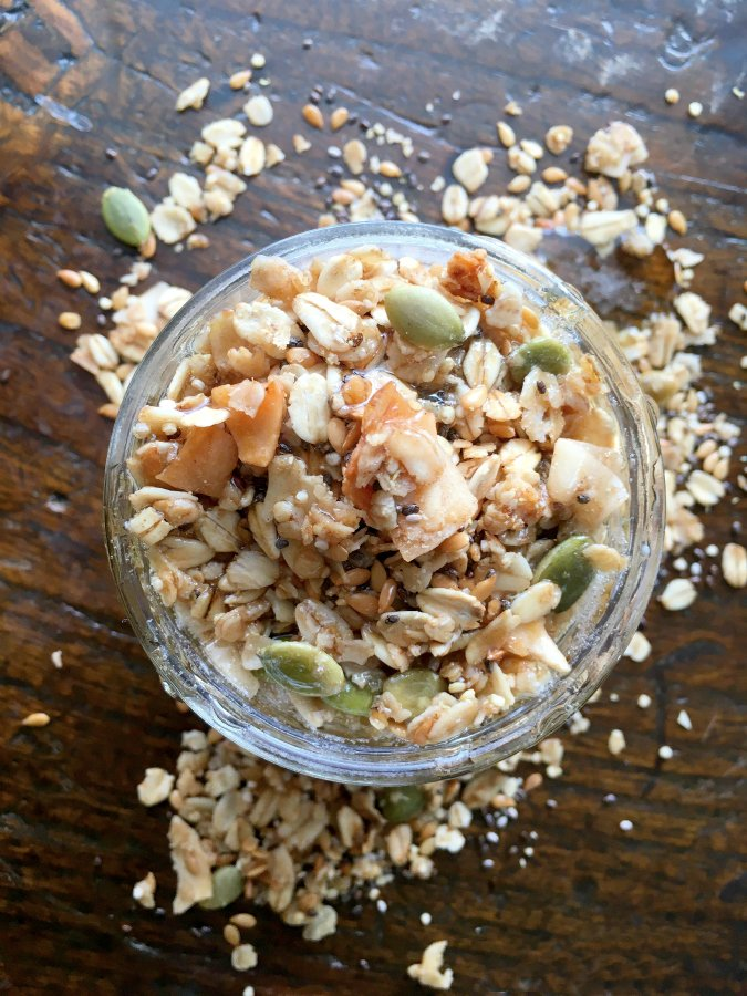 Healthy Homemade Granola (Part 2)-honey