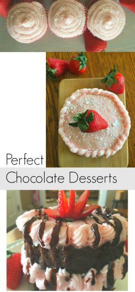 What to make for Chocolate Valentine's Day dessert-pin