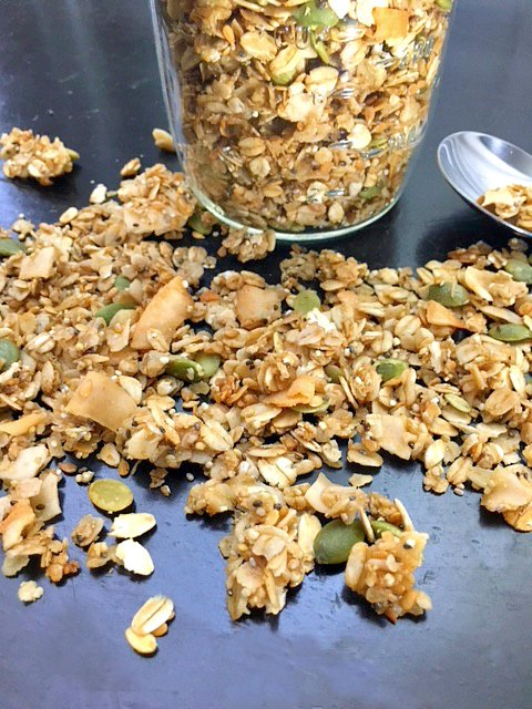 Healthy Homemade Granola (Part 2)-mix
