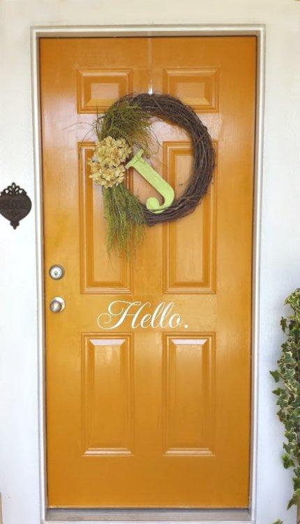 hello cupcake - door