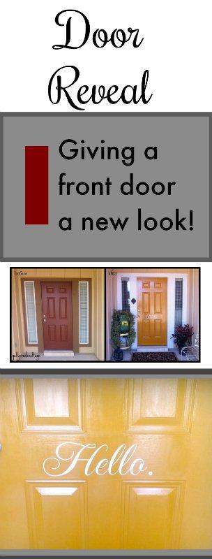front door reveal-pin