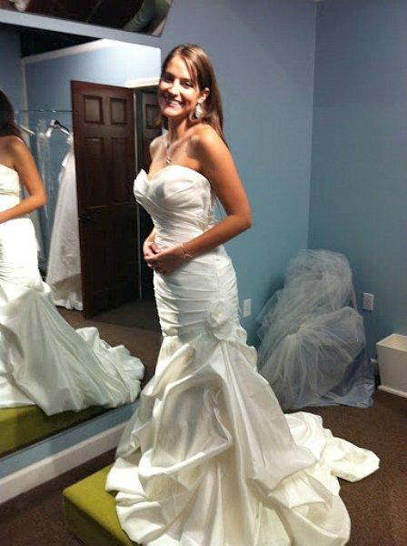featuring a Fall wedding-dress