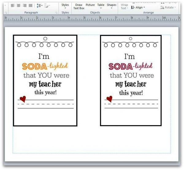 Thank a TEACHER with a FREE Printable-templates
