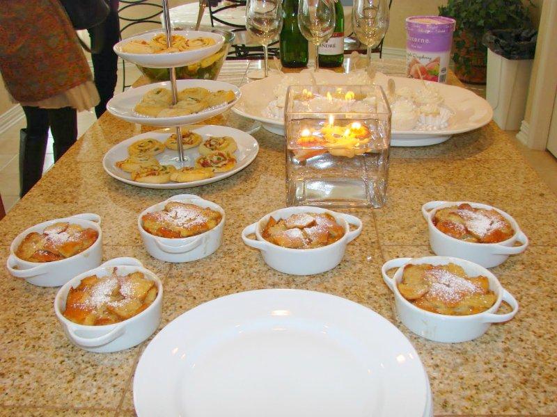 Bridal Brunch Shower-food