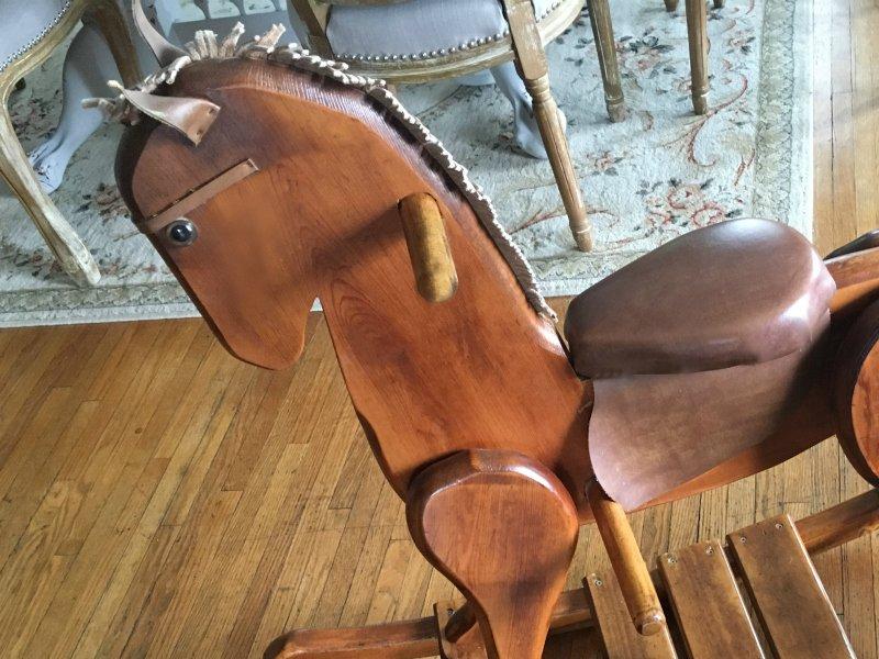 When a cowboy needs a horse-closeup