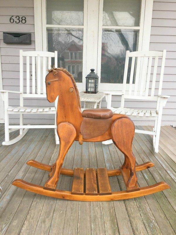 When a cowboy needs a horse-restored