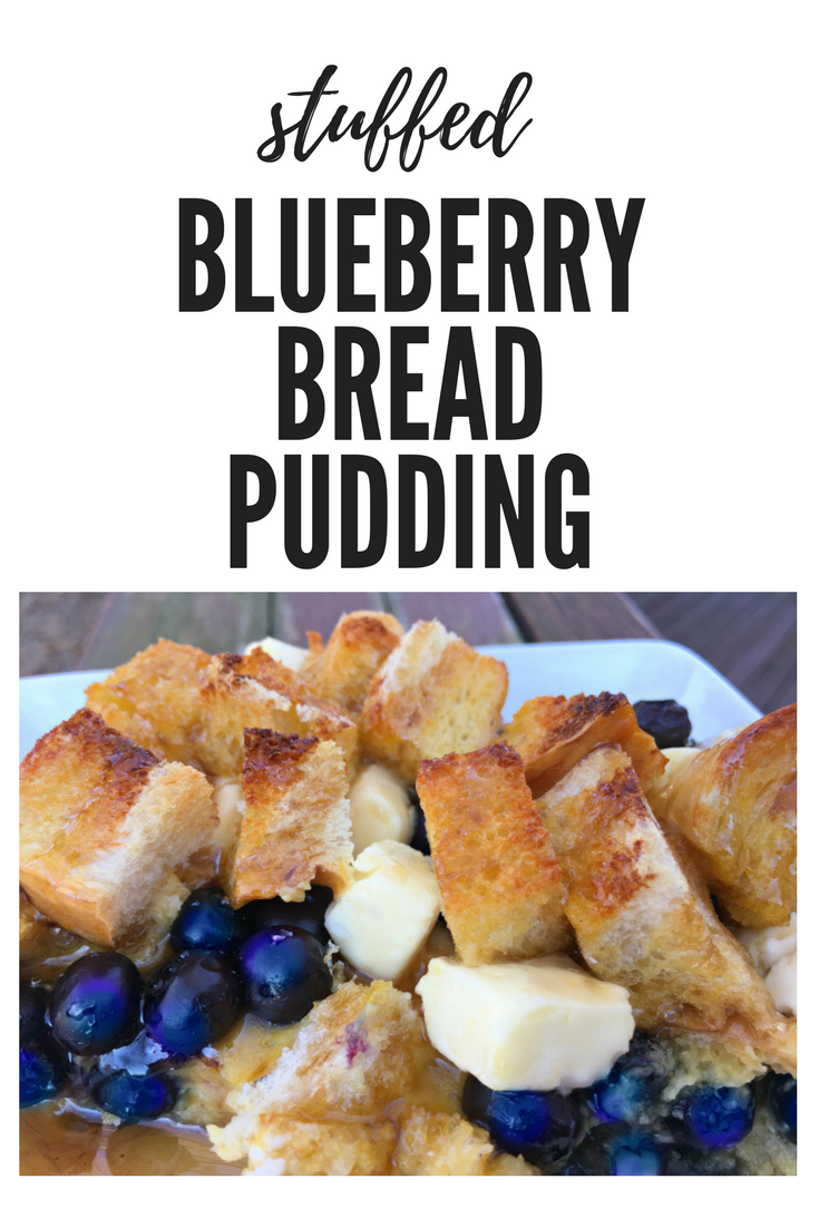 Overnight bread pudding goodness-pin