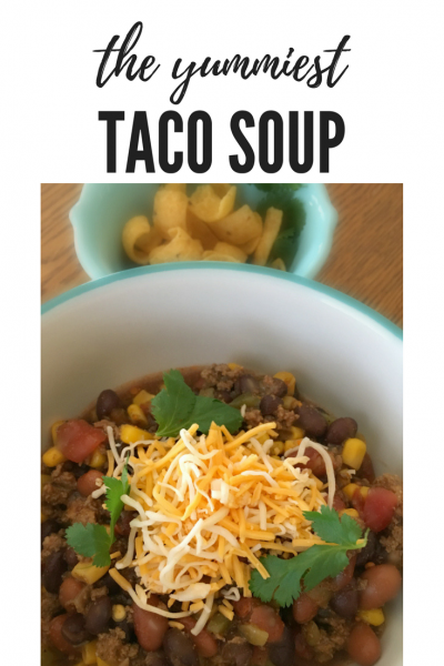 authentic Taco Soup-pin