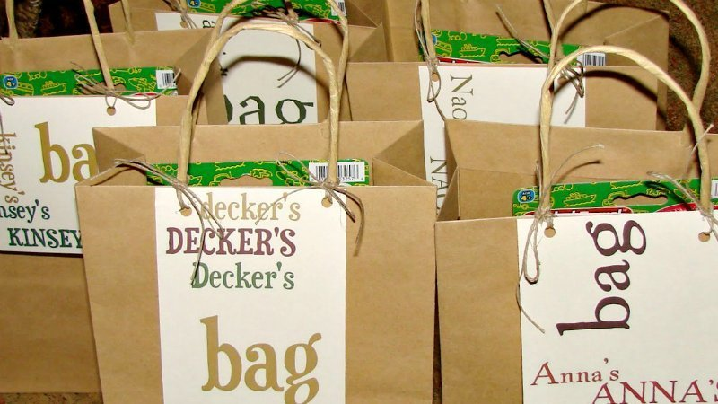 Little Wedding Guests-bags