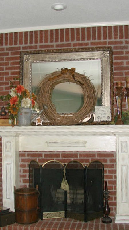 antiquing a mantle-final